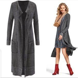 CAbi Lara Sweater Cardigan Duster Size M #3166